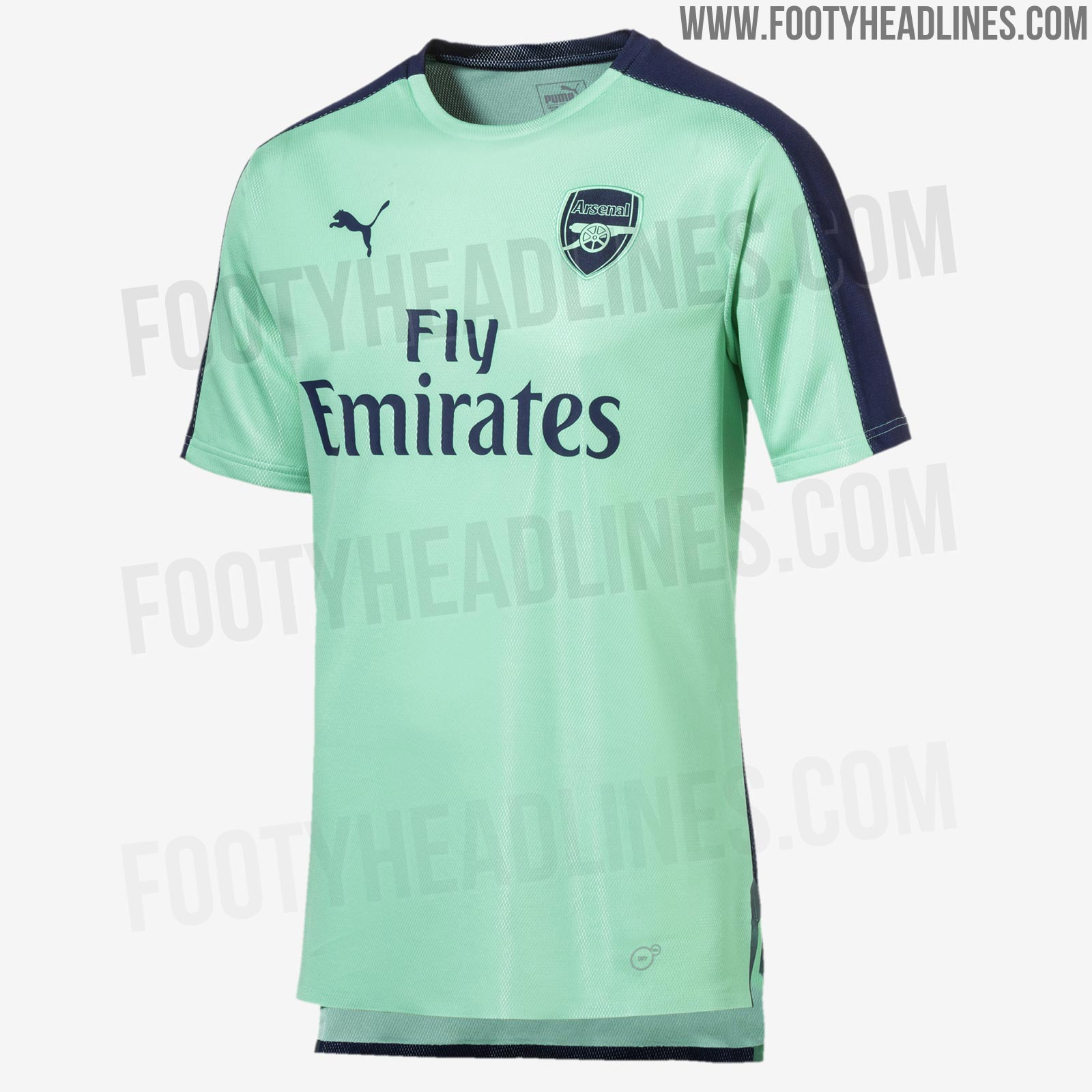 fc79e3824 Design-wise, Arsenal's 18-19 third kit will be based on Puma's new evoKNIT  2018 World Cup jersey template.