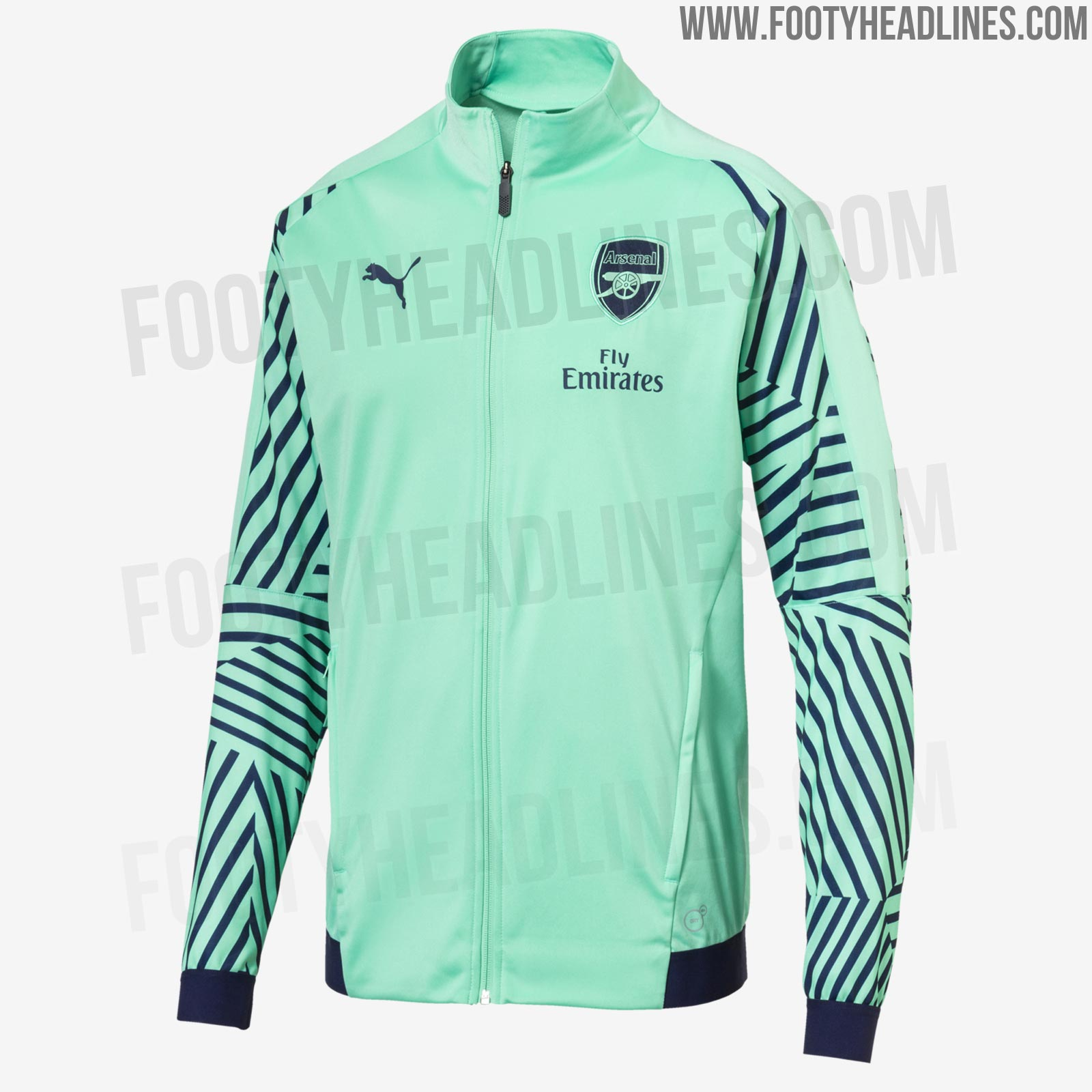 64cbf4f925d Design-wise, Arsenal's 18-19 third kit will be based on Puma's new evoKNIT  2018 World Cup jersey template.