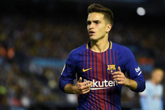 Image result for Denis Suárez   2018